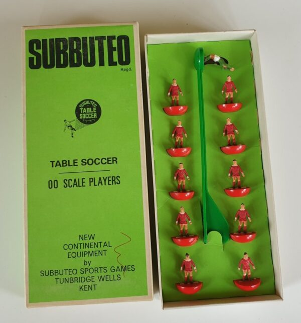 Vintage Subbuteo HW Team 41 Liverpool 1970's