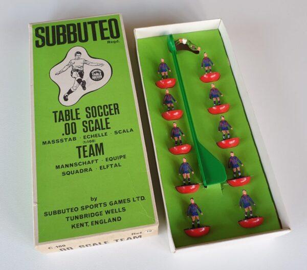 Vintage Subbuteo HW Team 19 Barcelona 1970's