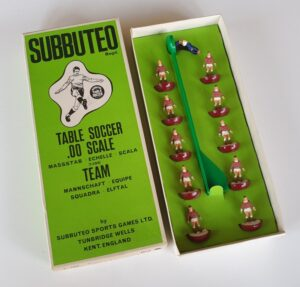 Vintage Subbuteo HW Team 27 Hearts York Stenhousemuir Arbroath 1970s