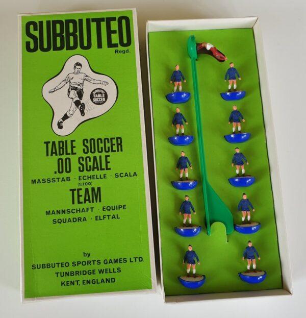 Vintage Subbuteo HW Team 42 Chelsea 1970's