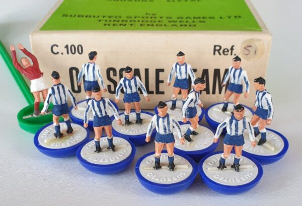 Vintage Subbuteo HW Team 51 Brighton Sheffield Wednesday 1970's