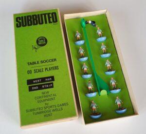 Vintage Subbuteo HW Team 79 West Ham 2nd Away Kit 1970's
