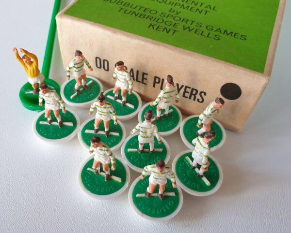 Vintage Subbuteo Team HW 25 Celtic 1970's