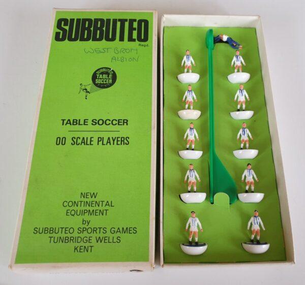 Vintage Subbuteo Team HW 3 West Bromwich Albion 1970's