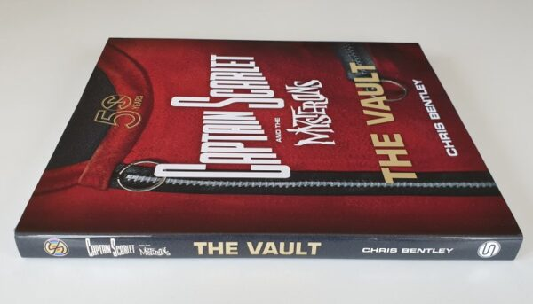 CAPTAIN SCARLET and the MYSTERONS 'THE VAULT' Hardback Book by Chris Bentley