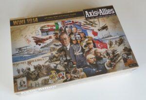 AXIS & ALLIES WW1 1914 Board Game (First World War) Avalon Hill