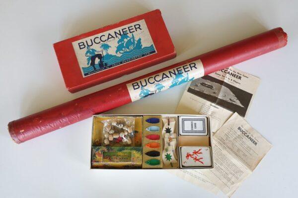 Vintage BUCCANEER board game (1st Edition) Waddingtons 1930's
