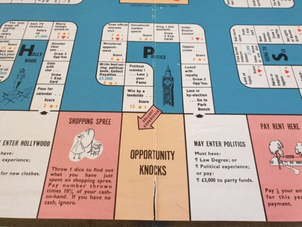 Vintage 1950's CAREERS Board Game by Waddingtons