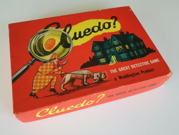 Vintage 1950's CLUEDO Board Game by Waddingtons