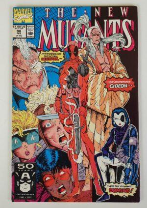 THE NEW MUTANTS #98 Vintage Marvel Comic 1991 (1st appearance Deadpool)