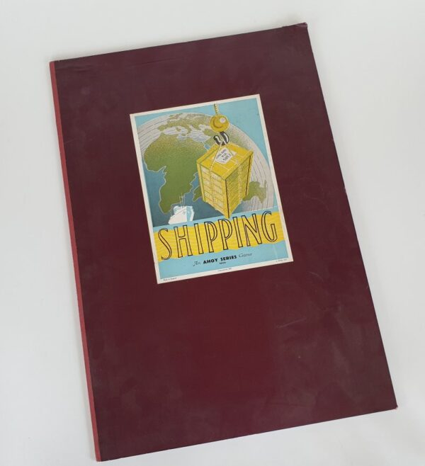 SHIPPING Vintage Board Game Ahoy Series 1940's