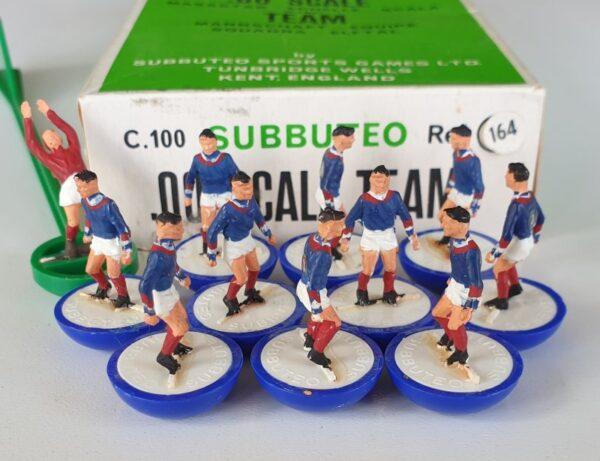 Vintage Subbuteo HW team 164 France 1970's