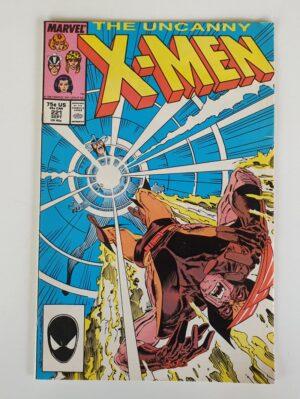 THE UNCANNY X-MEN #221 Vintage Marvel Comic 1987