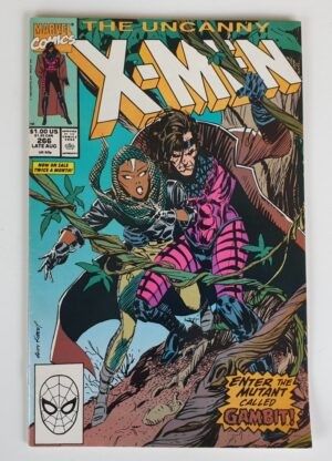 THE UNCANNY X-MEN #266 Vintage Marvel Comic 1990 (Gambit)