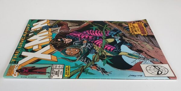 THE UNCANNY X-MEN #266 Vintage Marvel Comic 1990 (Gambit)