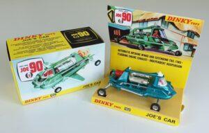 Vintage Dinky 102 Joe 90 Joe's Car 1960's