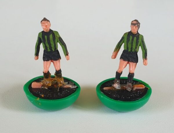 Vintage Subbuteo HW Team 78 Plymouth Argyle Coventry 2nd 1970's