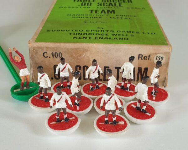 Vintage Subbuteo HW Team 159 Peru 1970's